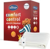 BOXED SILENT NIGHT COMFORT CONTROL ELECTRIC BLANKET STANDARD KING SIZE RRP £40.00Condition