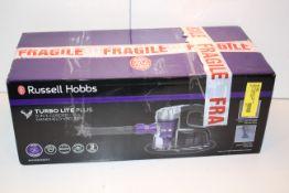 BOXED RUSSELL HOBBS TURBO LITE PLUS 5-IN-1 HANDHELD VACUUM RRP £59.99Condition ReportAppraisal