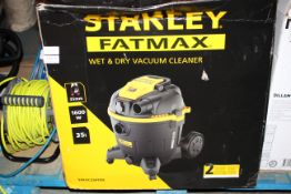 BOXED STANLEY FATMAX WET & DRY VACUUM CLEANER MODEL: SXFVC35PTDE RRP £109.99Condition