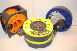 4X ASSORTED ELECTRICAL EXTENSION REELS (IMAGE DEPICTS STOCK)Condition ReportAppraisal Available on