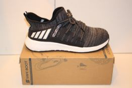 BOXED SAFETY TOE TRAINER EURO SIZE 45 Condition ReportAppraisal Available on Request- All Items