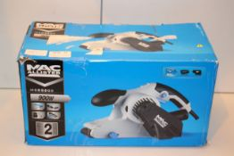 BOXED MAC ALLISTER 900W BELT SANDER MODEL: MSBS900 RRP £50.00Condition ReportAppraisal Available