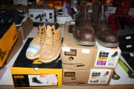 3X ASSORTED BOXED PAIRS WORKWEAR BOOTS (IMAGE DEPICTS STOCK)Condition ReportAppraisal Available on