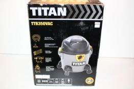 BOXED TITAN TTB350VAC 16L 1300W WET/DRY VACUUM RRP £44.99Condition ReportAppraisal Available on