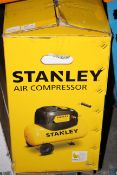 BOXED STANLEY AIR COMPRESSOR RRP £130.00Condition ReportAppraisal Available on Request- All Items