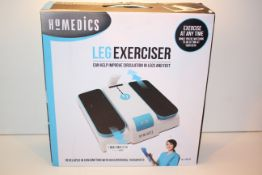 BOXED HOMEDICS LEG EXCERCISER MODEL: PSL-1000-GB RRP £199.00Condition ReportAppraisal Available on