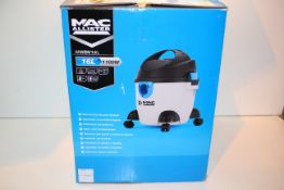 BOXED MAC ALLISTER 16L WET & DRY VACUUM CLEANER 1100W MODEL: MWDV16L RRP £40.00Condition