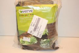 3X BAGGED VERVE GROW YOUR OWN VEGEATABLE PLANTERSCondition ReportAppraisal Available on Request- All