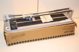 2X ASSORTED 330MM LIGHT DUTY MANUAL TILE CUTTERS Condition ReportAppraisal Available on Request- All