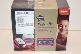 BOXED TOMMEE TIPPEE MADE FOR ME SINGLE ELECTRIC BREAST PUMP RRP £134.99Condition ReportAppraisal