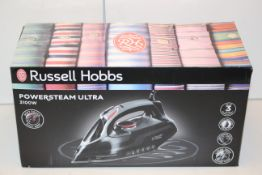 3X BOXED RUSSELL HOBBS POWERSTEAM ULTRA 3100W STEAM IRONS COMBINED RRP £150.00Condition