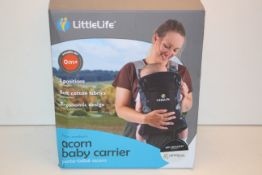 BOXED LITTLELIFE ACORN BABY CARRIER 0M+ RRP £59.99Condition ReportAppraisal Available on Request-