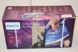 BOXED PHILIPS EASY SPEED PLUS STEAM IRON MODEL: GC2145 RRP £29.99Condition ReportAppraisal Available