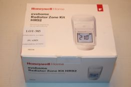 BOXED HONEYWELL HOME EVOHOME RADIATOR ZONE KIT HR92 RRP £64.99Condition ReportAppraisal Available on