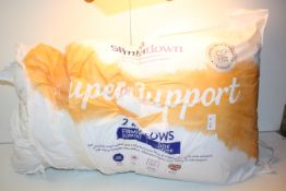 BAGGED SLUMBERDOWN SUPER SUPPORT 2 PILLOWS RRP £23.99Condition ReportAppraisal Available on Request-