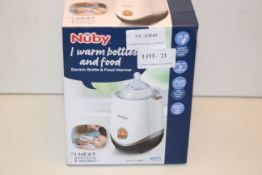 BOXED NUBY ELECTRIC BOTTLE & FOOD WARMER RRP £14.99Condition ReportAppraisal Available on Request-