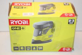 BOXED RYOBI ONE+ 18V PALM SANDER Condition ReportAppraisal Available on Request- All Items are