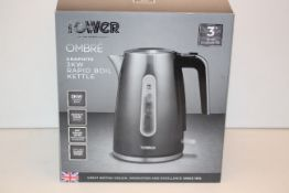 BOXED TOWER OMBRE GRAPHITE 3KW RAPID BOIL KETTLE RRP £39.99Condition ReportAppraisal Available on