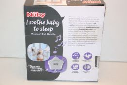 BOXED NUBY MUSICAL COT MOBILE RRP £19.00Condition ReportAppraisal Available on Request- All Items
