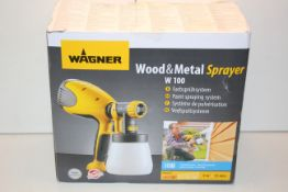 BOXED WAGNER WOOD & METAL SPRAYER W100 RRP £77.84Condition ReportAppraisal Available on Request- All
