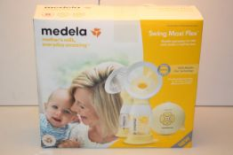 BOXED MEDELA SWING MAXI FLEX DOUBLE ELECTRIC 2-PHASE BREAST PUMP RRP £225.00Condition