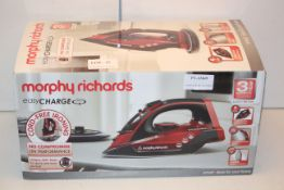 BOXED MORPHY RICHARDS EASY CHARGE 360' STEAM IRON RRP £49.99Condition ReportAppraisal Available on