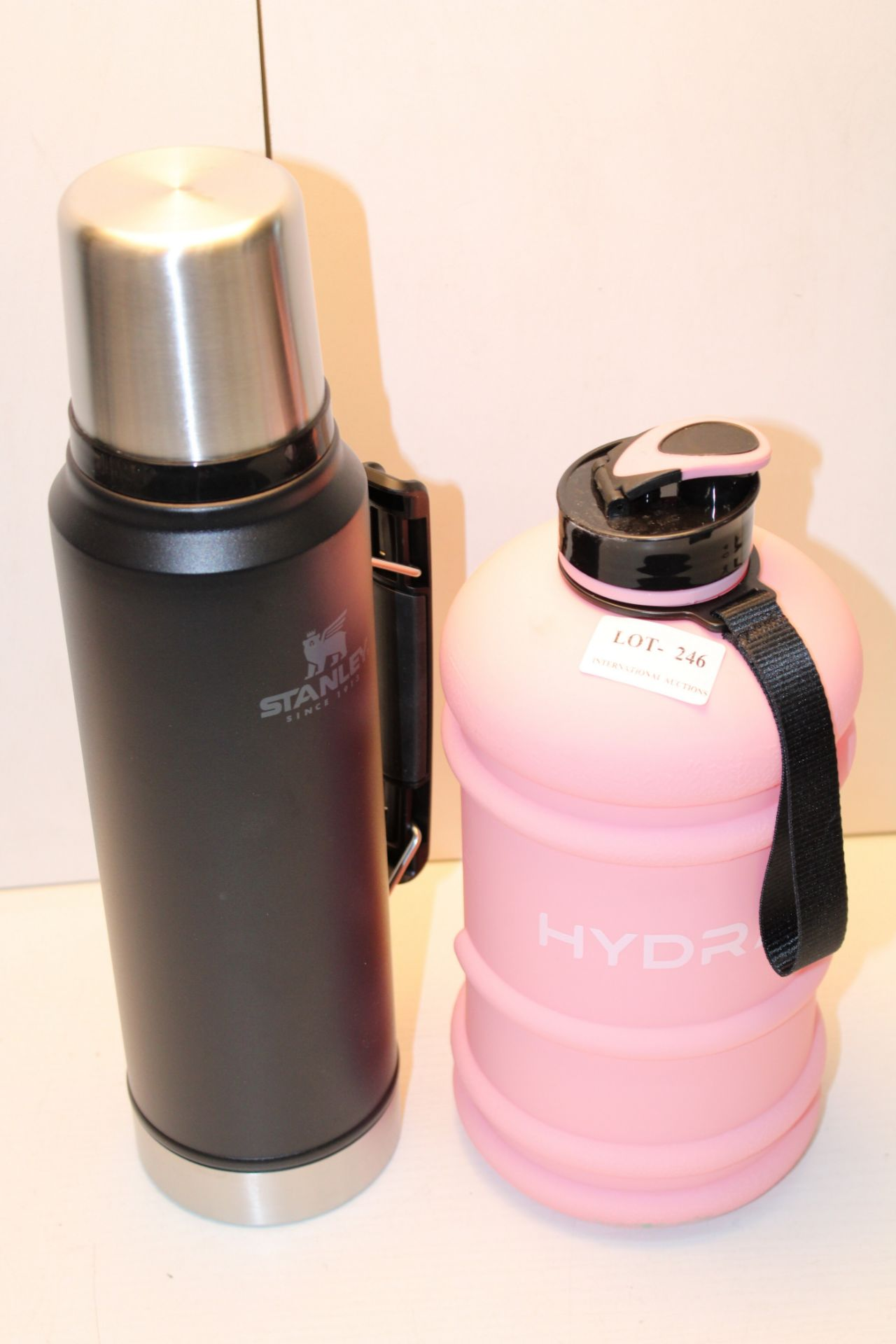 X 2 BOTTLES/FLASH, STANLEY & HYDRATECondition ReportAppraisal Available on Request- All Items are