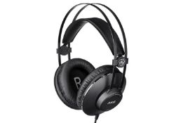 BOXED AKG HARMAN K52 CLOSED-BACK HEADPHONES RRP £39.99Condition ReportAppraisal Available on
