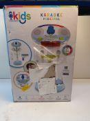 BOXED KIDS SINGING MACHINE KARAOKE PEDESTAL RRP £69.99Condition ReportAppraisal Available on