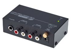 BOXED BEHRINGER MICRO PHONO PP400 ULTRA COMPACT OHONO PREAMP RRP £24.99Condition ReportAppraisal