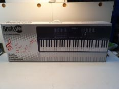 BOXED ROCKJAM 61KEY MUSIC BOARD RRP £59.99Condition ReportAppraisal Available on Request- All