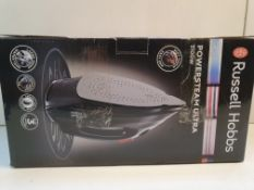 BOXED RUSSELL HOBBS IRON POWER STEAM ULTRA RRP £37.99Condition ReportAppraisal Available on Request-