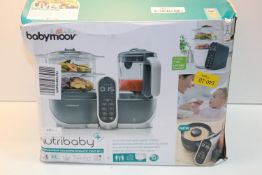 BOXED BABYMOOV NUTRIBABY FOOD PROCESSOR RRP £149.99Condition ReportAppraisal Available on Request-