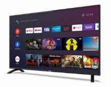 CELLO ANDROID TV, 40 INCH, MODEL- HKC140, RRP-£300.00