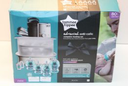 BOXED TOMMEE TIPPEE ADVANCED ATI-COLIC COM-LETE FEEDING SYSTEM RRP £100.00Condition