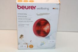 BOXED BEURER WELLBEING INFRARED LAMP MODEL: IL35 RRP £50.00Condition ReportAppraisal Available on