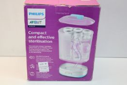 BOXED PHILIPS AVENT COMPACT AND EFFECTIVE STERILISATION MODEL: SCF922/01 RRP £59.99Condition
