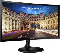 """SAMSUNG ESSENTIAL CURVED MONITOR CF390 23.5""""Condition ReportAppraisal Available on Request- All"""