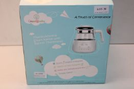 BOXED UNEEQBABY MULTIFUNCTIONAL SMART KETTLE WITH BUILT IN THERMOSTAT RRP £51.95Condition