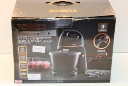 BOXED TOWER ROSE GOLD EDITION 2.5LITRE 2-IN-1 HAND & STAND MIXER RRP £47.98Condition ReportAppraisal