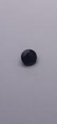 1.5 carat round Garnet No Reserve