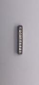 Silver 925 cz pendant No Reserve