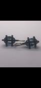 Earrings set with aqua No Reserve