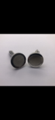 Pair of gents round cuff links No Reserve