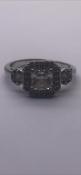 Stella Designer ringSet with cz stonesNo reserve