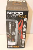 BOXED NOCO BOOST PLUS ULTRASAFE JUMP STARTER GB40 12V 1000A RRP £94.95Condition ReportAppraisal