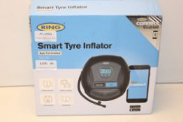BOXED RING SMART TYRE INFLATOR APP CONTROLLED 12V DC Condition ReportAppraisal Available on Request-