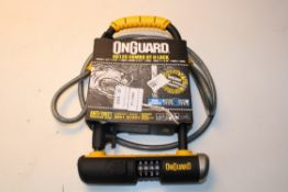 BOXED ONGUARD 8012C COMBO DT U-LOCK Condition ReportAppraisal Available on Request- All Items are