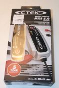 BOXED CTEK BATTERY CHARGER MXS 5.0 12V/5A RRP £103.95 Condition ReportAppraisal Available on