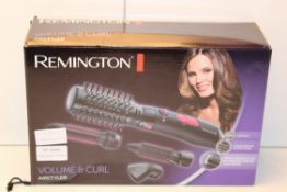 BOXED REMINGTON VOLUME & CURL AIRSTYLER Condition ReportAppraisal Available on Request- All Items